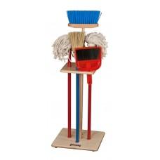 Jonti-Craft® Housecleaning Set-n-Rack