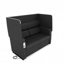 Morph Series Soft Seating Sofa, Midnight