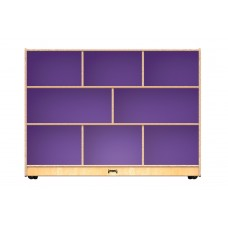Jonti-Craft® Super-Sized Single Mobile Storage Unit – Purple