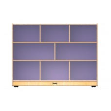 Jonti-Craft® Super-Sized Single Mobile Storage Unit – Lilac