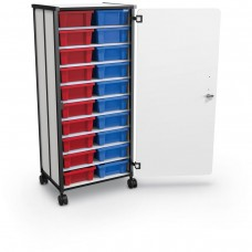 Mobile Tub Storage Cart (20 Tub Cart)
