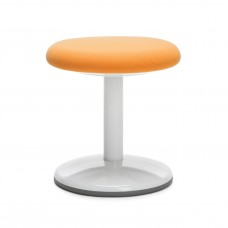 "Orbit Series Static Stool 14"" High - Fabric, Orange"