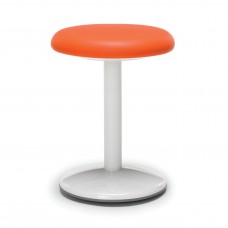 "Orbit Series Active Stool 18"" High - Vinyl, Orange"
