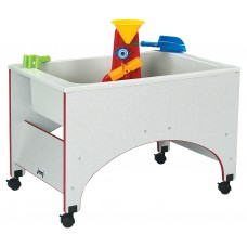 Rainbow Accents® Space Saver Sensory Table - Blue