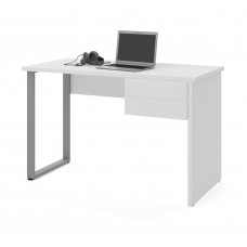 Solay Computer Desk in White