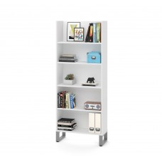 Solay 29-inch Bookcase in White