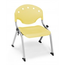 Rico Student Stack Chair - 12 Inch Seat Height, Yellow