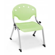 Rico Student Stack Chair - 12 Inch Seat Height, Green