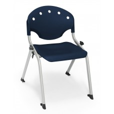 Rico Student Stack Chair 14 Inch Seat Height, Blue