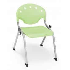 Rico Student Stack Chair 14 Inch Seat Height, Green