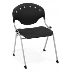 Rico Stack Chair, Black