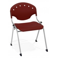 Rico Stack Chair, Burgundy