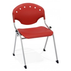 Rico Stack Chair, Red