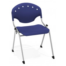 Rico Stack Chair, Blue