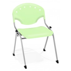 Rico Stack Chair, Green
