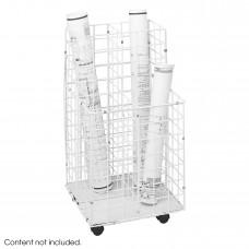 Wire Roll File, 4 Compartment