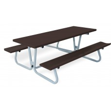 "30""X 96"" Deluxe Piknik Table (Brite Red)"