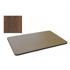 Bar & Cafe Table Parts-TOP ONLY - 30x42 - Walnut