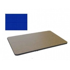 Bar & Cafe Table Parts-TOP ONLY - 30x42 - Blue