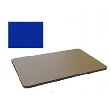 Bar & Cafe Table Parts-TOP ONLY - 30x48 - Blue