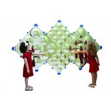 Diamond Bubble Wall