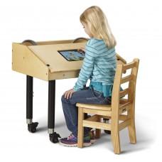 Jonti-Craft® Single Tablet Table - Mobile
