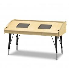 Jonti-Craft® Dual Tablet Table - Stationary