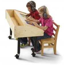 Jonti-Craft® Dual Tablet Table - Mobile