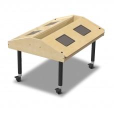 Jonti-Craft® Quad Tablet Table - Mobile