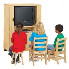 Jonti-Craft® Euro-TV Cabinet
