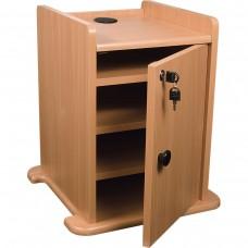 Pres Cart Opt Cabinet (Teak)