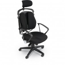 Spine Align™ Chair (Black) (1/Carton)