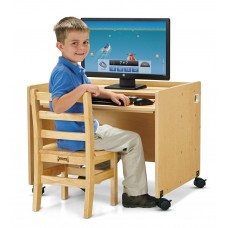 MapleWave® Enterprise Single Computer Desk