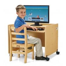 MapleWave® Enterprise Single Computer Desk