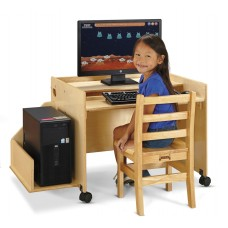 Jonti-Craft® Enterprise Single Computer Desk