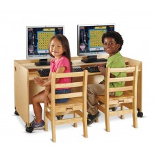 Jonti-Craft® Enterprise Double Computer Desk