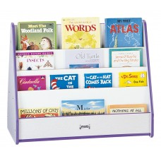 Rainbow Accents® Double Sided Pick-a-Book Stand - Mobile - Blue