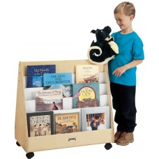 Jonti-Craft® Double Sided Pick-a-Book Stand - Mobile