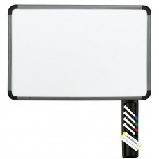 "Dry Erase Board, Blow Mold Frame, 36"" x 24"" - Charcoal - Caddy"