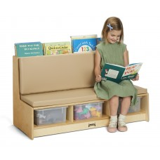 Jonti-Craft® Literacy Couch - Wheat
