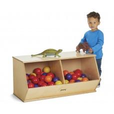 Jonti-Craft® Stacking Beveled Crate – Duplex