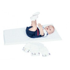 Infection Control White Changing Pad - Single