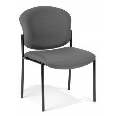 OFM Armless Stack Chair, Gray