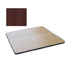 """Bar & Cafe Table Parts-TOP ONLY - 24"""" Square - Cherry"""