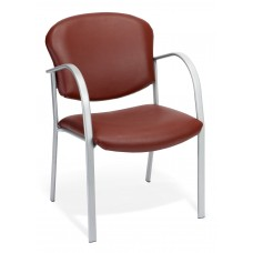 OFM 414-VAM-603 Contract Guest Vinyl Chair, Wine