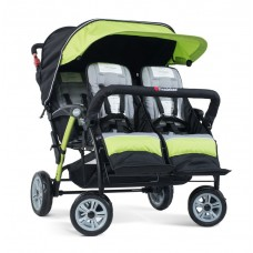 The Quad Sport™ 4-Passenger Stroller - Lime - N/A