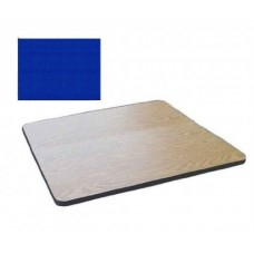 """Bar & Cafe Table Parts-TOP ONLY - 24"""" Square - Blue"""