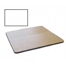 """Bar & Cafe Table Parts-TOP ONLY - 24"""" Square - White"""