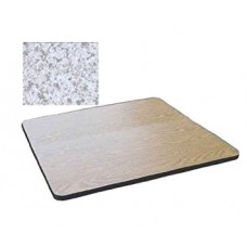 """Bar & Cafe Table Parts-TOP ONLY - 30"""" Square - Grey Granite"""