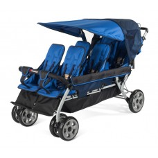 The LX6™  6-Passenger Stroller - Regatta - N/A